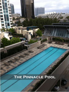 The Pinnacle Condos San Diego Pool