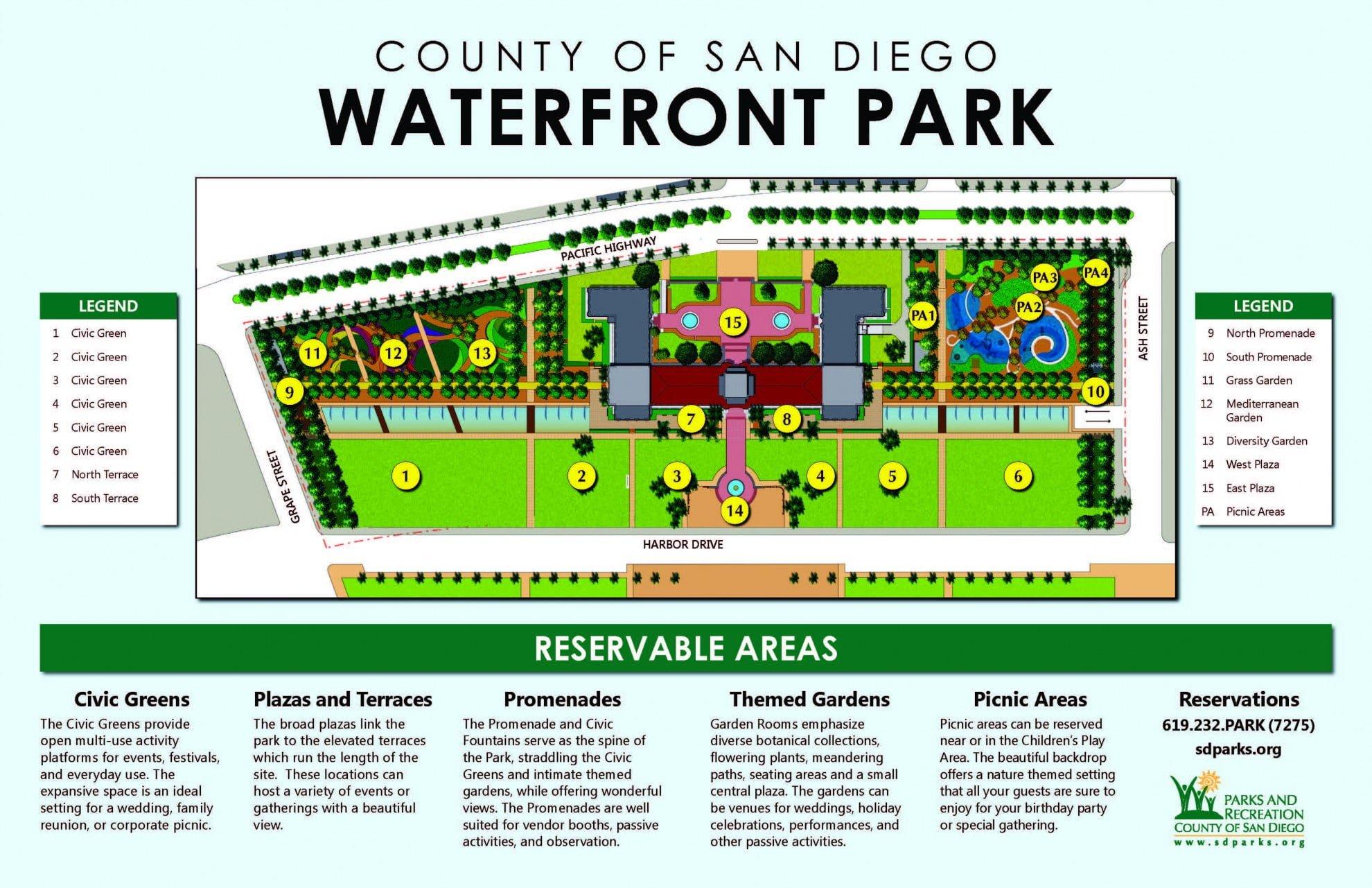 WaterfrontParkReserveAreas