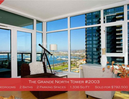 Just Sold The Grande North Tower 2003 | $792,500