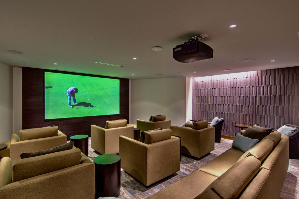 Theater Room at San Diego's Pacific Gate
