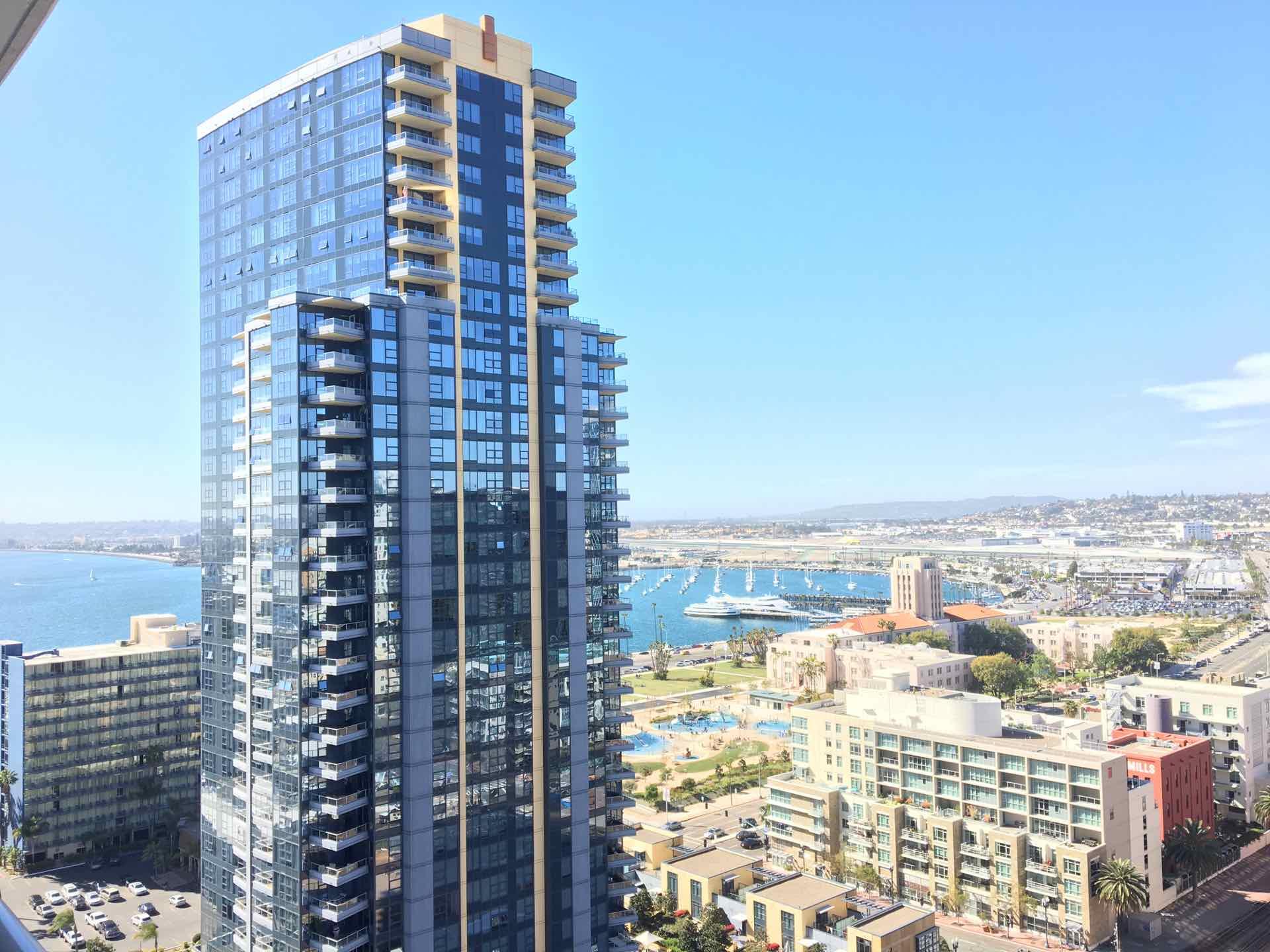 Views condos at Bayside